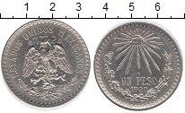 Изображение Монеты Мексика 1 песо 1920 Серебро XF