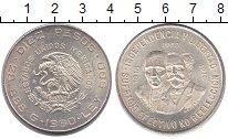 Изображение Монеты Мексика 10 песо 1960 Серебро UNC-