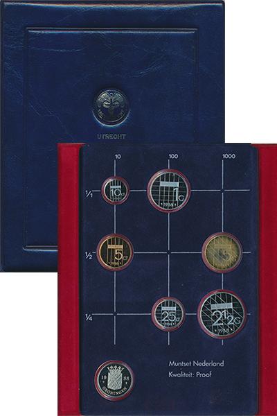 Изображение Подарочные наборы Нидерланды Набор 1988 года 1988  Proof