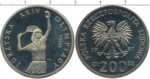Картинка Монеты Польша Олимпиада в Сеуле Медно-никель 1987