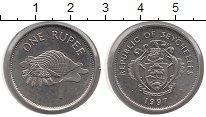 Изображение Монеты Сейшелы 1 рупия 1997 Медно-никель UNC-