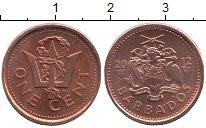 Изображение Монеты Барбадос 1 цент 2012 Бронза UNC