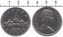 Изображение Монеты Канада 1 доллар 1972 Медно-никель UNC