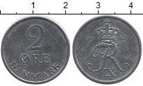 Изображение Монеты Дания 2 эре 1967 Цинк UNC-
