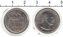 Изображение Монеты Монако 1/2 франка 1978 Медно-никель UNC-