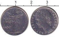 Изображение Барахолка Италия 100 лир 1996 Медно-никель XF