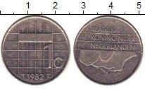 Изображение Барахолка Нидерланды 1 стивер 1982 Медно-никель XF