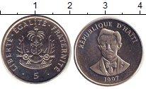 Изображение Барахолка Гаити 5 гурд 1997 Медно-никель XF