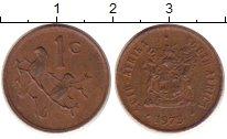 Изображение Барахолка ЮАР 1 цент 1973 Бронза XF