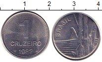 Изображение Барахолка Бразилия 1 крузейро 1982 Медно-никель XF