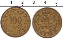 Изображение Дешевые монеты Тунис 100 миллим 1988 Латунь XF
