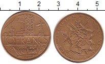 Изображение Барахолка Франция 10 франков 1979 Бронза XF