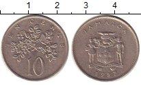 Изображение Барахолка Ямайка 10 центов 1987 Медно-никель XF