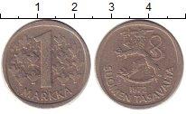 Изображение Дешевые монеты Финляндия 1 марка 1972 Алюминий XF