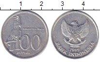Изображение Дешевые монеты Индонезия 100 рупий 1999 Алюминий XF