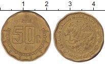 Изображение Барахолка Мексика 50 сентаво 2008 Латунь XF