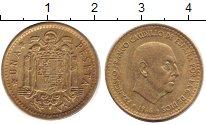 Изображение Дешевые монеты Испания 5 песет 1966 Латунь XF