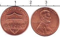Изображение Барахолка США 1 цент 2014 Латунь XF