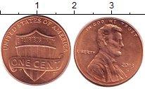 Изображение Дешевые монеты США 1 цент 2013 Латунь