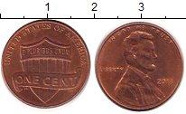 Изображение Барахолка США 1 цент 2013 Латунь XF