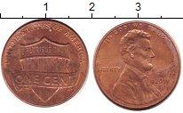 Изображение Дешевые монеты США 1 цент 2011 Медь XF+