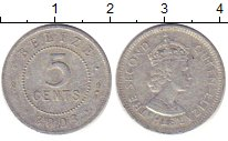 Изображение Барахолка Белиз 5 центов 2003 Алюминий XF-