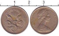 Изображение Дешевые монеты Австралия 5 центов 1977 Медно-никель XF