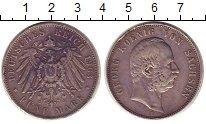 Изображение Монеты Саксония 5 марок 1903 Серебро XF