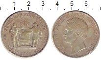 Изображение Монеты Саксония 1 талер 1866 Серебро VF