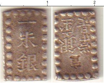 Картинка Монеты Япония 1 шу Серебро