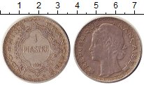 Изображение Монеты Индокитай 1 пиастр 1931 Серебро XF Протекторат  Франции
