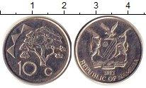 Изображение Мелочь Намибия 10 центов 2012 Медно-никель XF