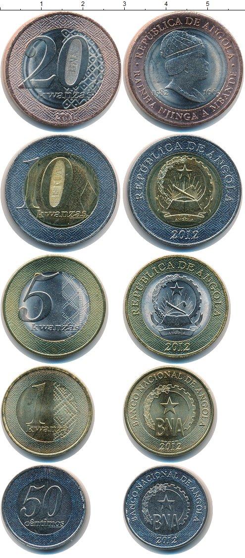 Картинка Наборы монет Ангола Ангола 2011-2012  2012