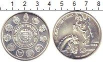 Изображение Монеты Португалия 1000 эскудо 2000 Серебро UNC-
