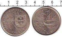 Изображение Монеты Португалия 100 эскудо 1989 Медно-никель UNC- Акорский архипелаг