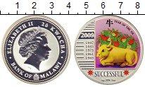 Изображение Монеты Малави 20 квач 2009 Серебро Proof