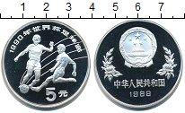 Изображение Монеты Китай 5 юань 1989 Серебро Proof