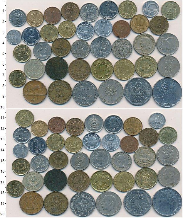 Изображение Лоты монет для начинающих нумизматов Монеты стран мира Лот №01262 0