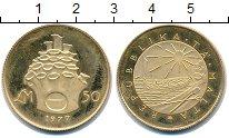 Изображение Монеты Мальта 50 лир 1977 Золото Proof-