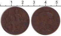Изображение Монеты Франция 5 сентим 1906 Бронза VF