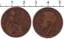 Изображение Монеты Великобритания 1/2 пенни 1919 Бронза VF Георг V.