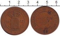 Изображение Монеты Нидерландская Индия 2 1/2 цента 1857 Бронза VF