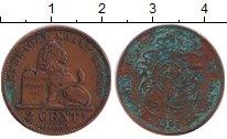 Изображение Монеты Бельгия 2 цента 1905 Медь VF Леопольд II.