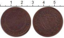 Изображение Монеты Сардиния 5 сентесим 1826 Медь F Карло Фелице