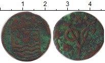 Изображение Монеты Нидерландская Индия 1 дьюит 1738 Медь VF