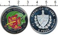 Изображение Монеты Куба 5 песо 1997 Серебро Proof-