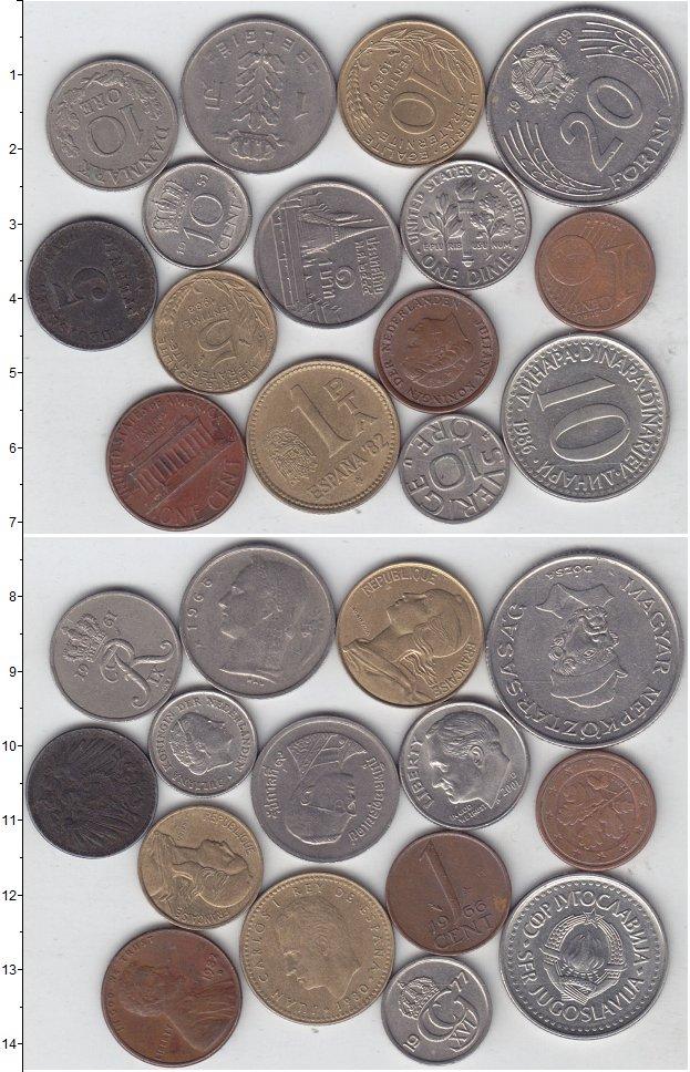 Изображение Лоты монет для начинающих нумизматов Монеты стран мира Лот №01273 0