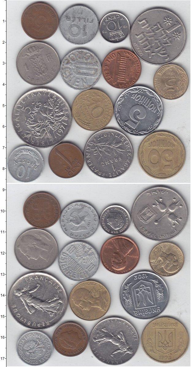 Изображение Лоты монет для начинающих нумизматов Монеты стран мира Лот №01274 0