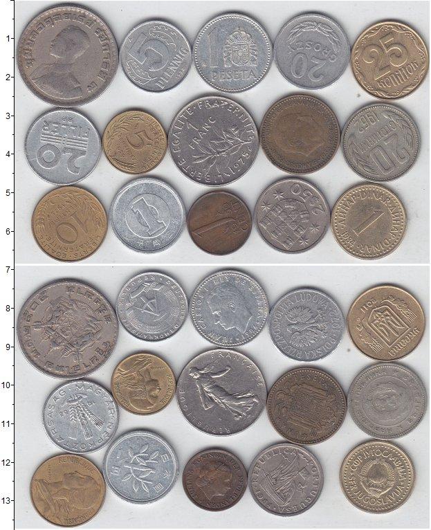 Изображение Лоты монет для начинающих нумизматов Монеты стран мира Лот №01280 0