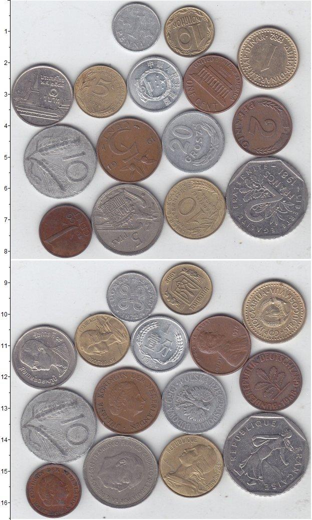 Изображение Лоты монет для начинающих нумизматов Монеты стран мира Лот №01292 0